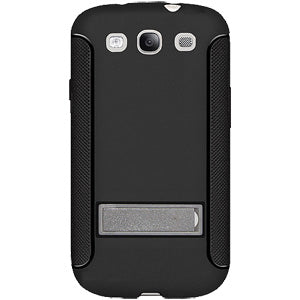 AMZER TPU Skin Case with Kickstand - Black