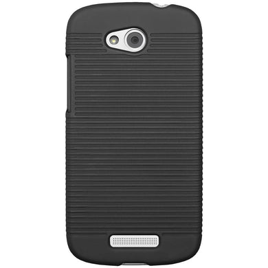 AMZER® Snap On Case - Black for HTC One VX