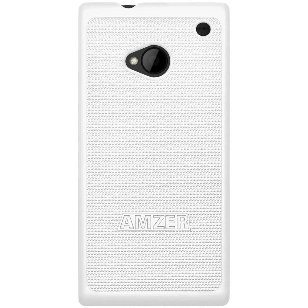 AMZER Snap On Case - White for HTC One M7