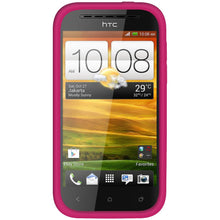 Load image into Gallery viewer, Amzer Silicone Skin Jelly Case - Hot Pink for HTC One SV