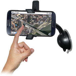 AMZER Car Mount & Case System for O2 Samsung GALAXY S4 GT-I9500