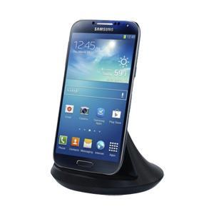AMZER Piano Dock with Audio Out - Black for Samsung GALAXY S4 GT-I9500