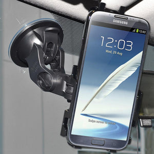 AMZER Suction Cup Mount for Windshield, Dash or Console for Samsung Galaxy Note II GT-N7100