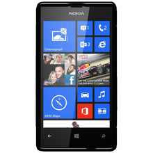 Load image into Gallery viewer, AMZER Shockproof Soft TPU Hybrid Case for Nokia Lumia 520 - Black