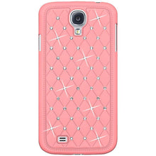 Load image into Gallery viewer, AMZER Diamond Lattice Snap On Shell Case - Light Pink for Samsung GALAXY S4 GT-I9500