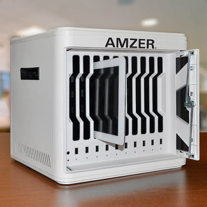 AMZER Handy 10 Bay Charge and Sync Cabinet