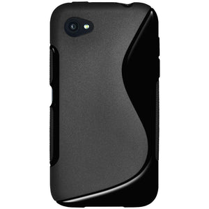 AMZER® TPU Hybrid Case - Black for HTC First