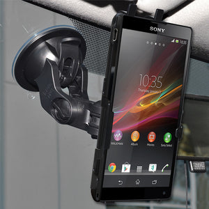 AMZER Suction Cup Mount for Windshield, Dash or Console for Sony Xperia ZL L35a