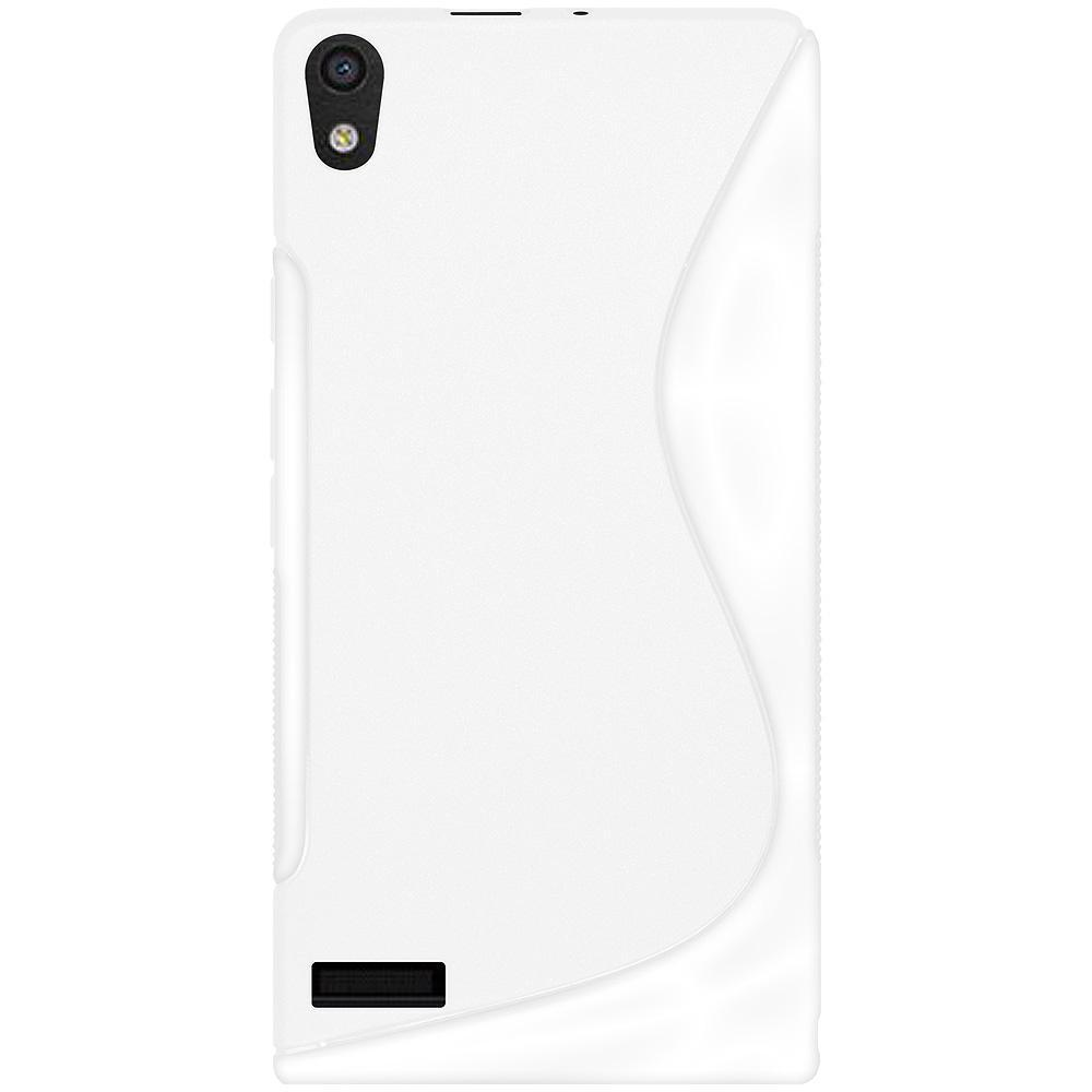 AMZER TPU Hybrid Case - Solid White for Huawei Ascend P6