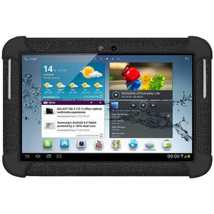 AMZER Silicone Skin Jelly Case for Samsung GALAXY Tab 2 10.1 - Black