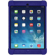 Load image into Gallery viewer, AMZER Shockproof Rugged Silicone Skin Jelly Case for iPad Air - Blue
