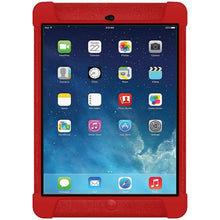 Load image into Gallery viewer, AMZER Shockproof Rugged Silicone Skin Jelly Case for iPad Air - Red