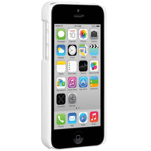 Load image into Gallery viewer, Amzer Snap On Case with Kickstand - White for iPhone 5C
