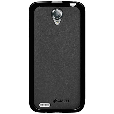 AMZER Pudding TPU Case - Black for Lenovo S650