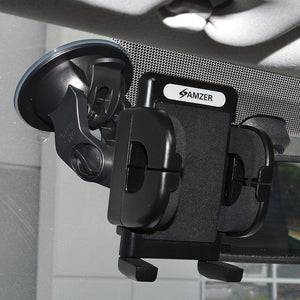 Amzer Universal Suction Cup Mount for Windshield, Dash or Console