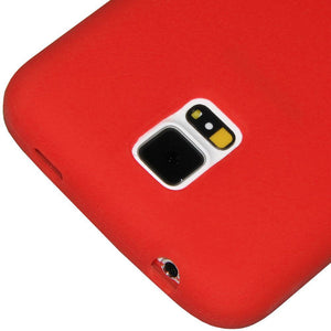 AMZER Silicone Skin Jelly Case for Samsung Galaxy S5 Neo SM-G903F - Red