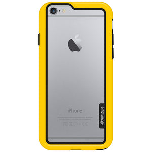 AMZER Border Case - Yellow for iPhone 6