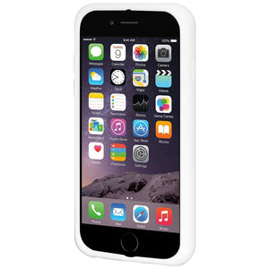 AMZER Silicone Skin Jelly Case for iPhone 6 Plus - Solid White