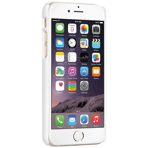AMZER Snap On Case with Kickstand - White for iPhone 6 Plus