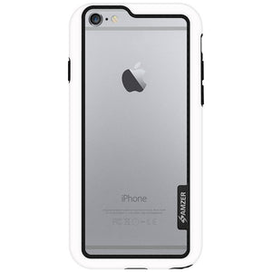 AMZER Border Case - White for iPhone 6 Plus