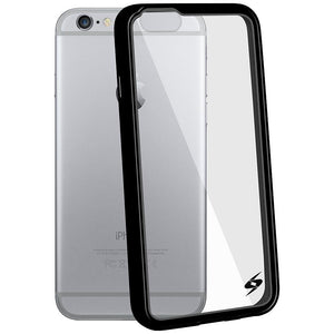 AMZER SlimGrip Hybrid Case - Black for iPhone 6 Plus