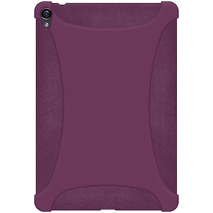 AMZER Shockproof Rugged Silicone Skin Jelly Case for Google Nexus 9 - Purple
