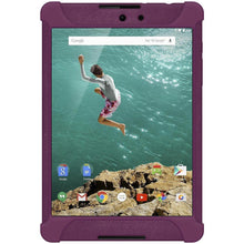 Load image into Gallery viewer, AMZER Shockproof Rugged Silicone Skin Jelly Case for Google Nexus 9 - Purple