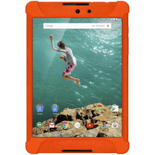 Load image into Gallery viewer, AMZER Shockproof Rugged Silicone Skin Jelly Case for Google Nexus 9 - Orange