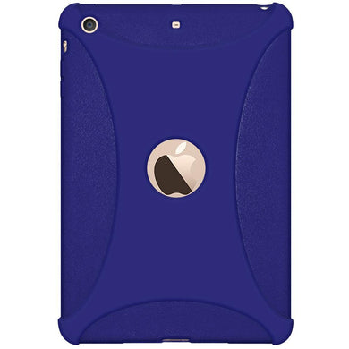 AMZER Shockproof Rugged Silicone Skin Jelly Case for Apple iPad mini 3 - Blue