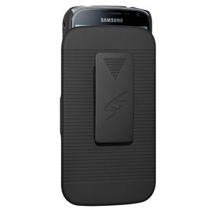 Amzer Shellster™ - Black for Samsung GALAXY K zoom SM-C115