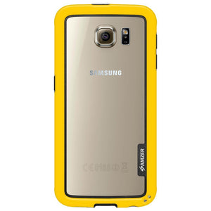 AMZER Border Case for Samsung Galaxy S6 - Yellow