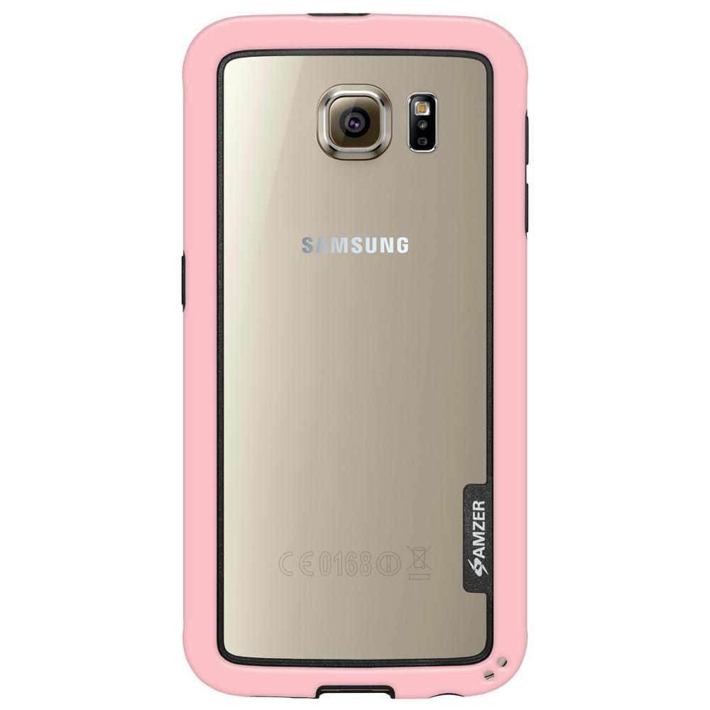 AMZER Border Case - Pink for Samsung Galaxy S6 SM-G920F
