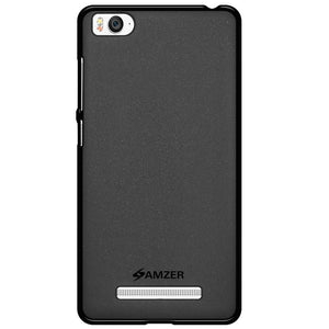 AMZER Pudding Soft TPU Skin Case for Xiaomi Mi 4i - Black