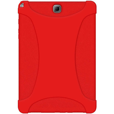 AMZER Silicone Skin Jelly Case for Samsung Galaxy Tab A 9.7 - Red