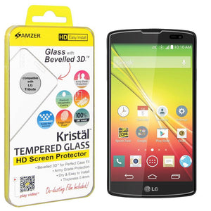 AMZER® Kristal™ Tempered Glass HD Screen Protector for LG Tribute LS660