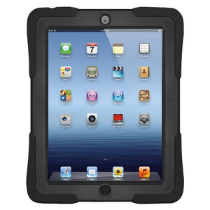 AMZER TUFFEN Case - Black for Apple iPad 4 with Retina Display