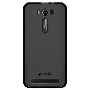 AMZER Pudding TPU Case - Black for Asus Zenfone 2 Laser ZE500KL