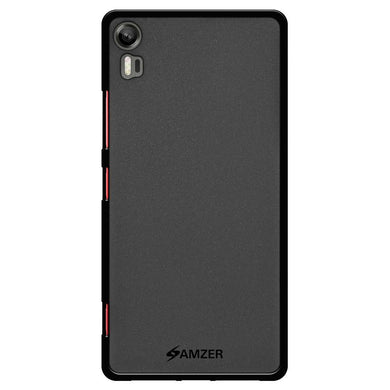 AMZER Pudding TPU Case - Black for Lenovo Vibe Shot
