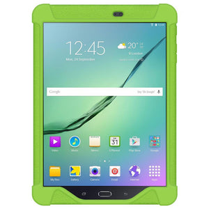 AMZER Shockproof Rugged Silicone Skin Jelly Case for Samsung GALAXY Tab S2 9.7