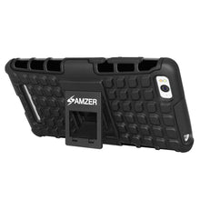 Load image into Gallery viewer, AMZER Shockproof Warrior Hybrid Case for Xiaomi Mi 4c - Black/Black