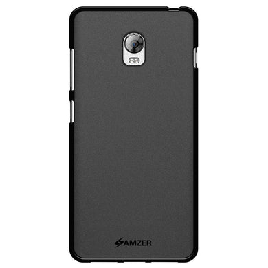 AMZER Pudding TPU Case - Black for Lenovo Vibe P1