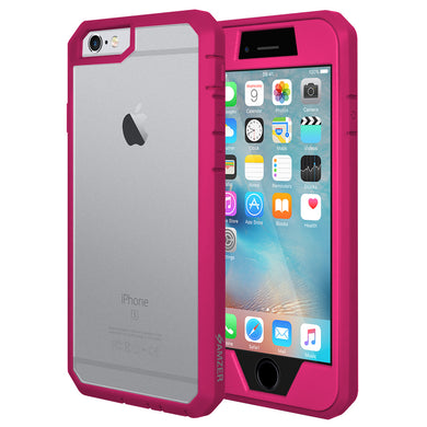 AMZER Full Body Hybrid Case - Pink for iPhone 6 Plus