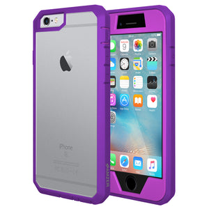 AMZER Full Body Hybrid Case - Purple for iPhone 6 Plus
