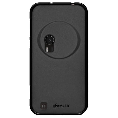 AMZER Pudding TPU Case - Black for Asus Zenfone Zoom ZX551ML