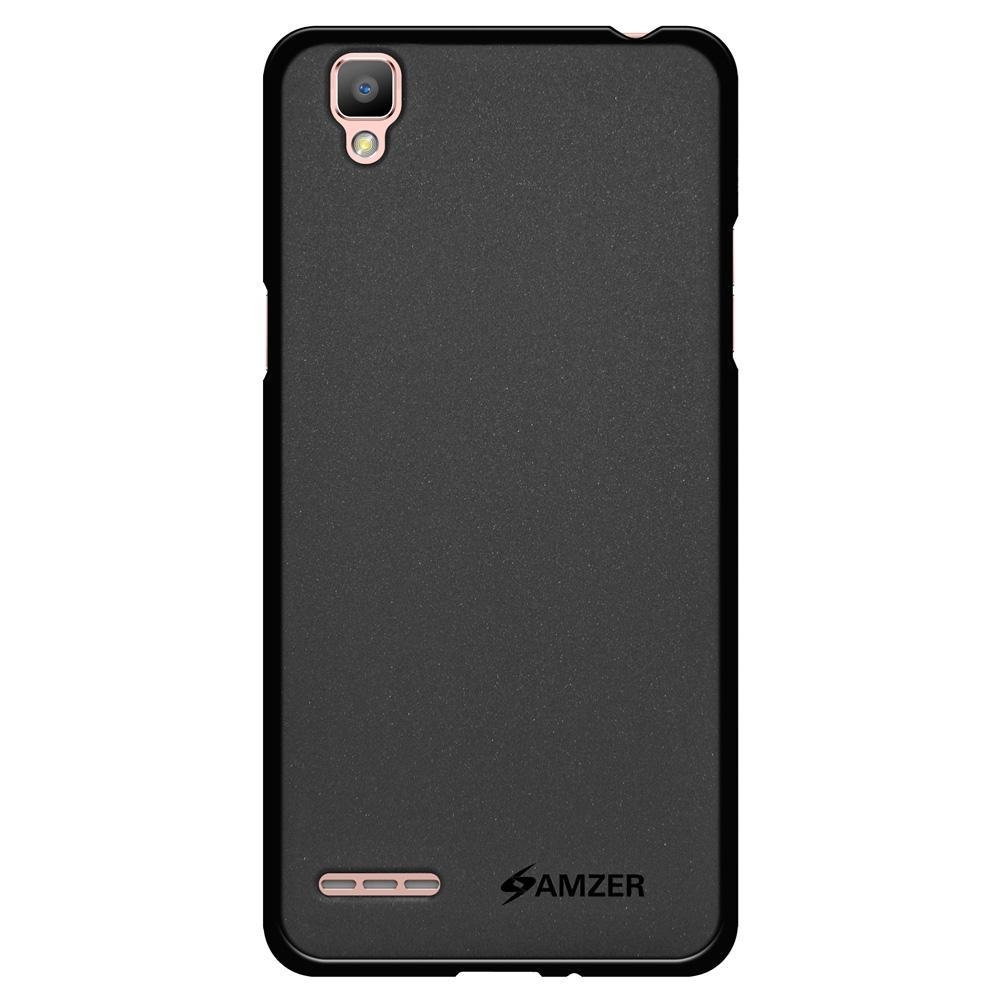 AMZER Pudding TPU Case - Black for OPPO F1