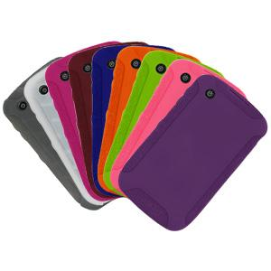 AMZER Skinny Set of 9 silicone Skin Jelly Case for BlackBerry Curve 8520, BlackBerry Curve 3G 9300