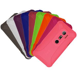 AMZER Skinny Set of 9 silicone Skin Jelly Case for HTC EVO 3D
