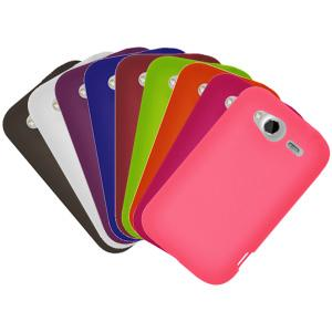 AMZER Skinny Set of 9 silicone Skin Jelly Case for HTC Wildfire S