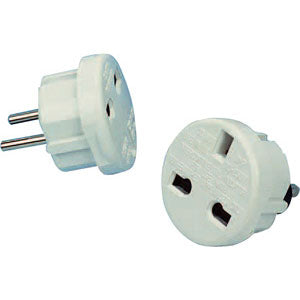 Universal Travel EU USA AUS Charger Adapter- White Set for Acer beTouch E100