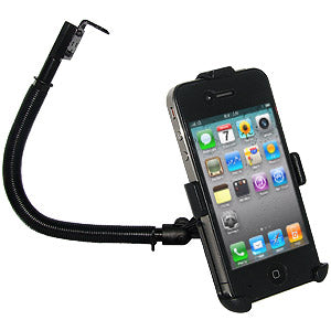 AMZER 15 inch Steel Gooseneck Floor Mount for iPhone 4